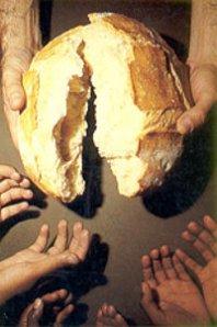 parte o pão